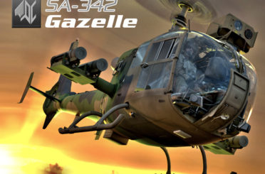 SA342 Gazelle is out !