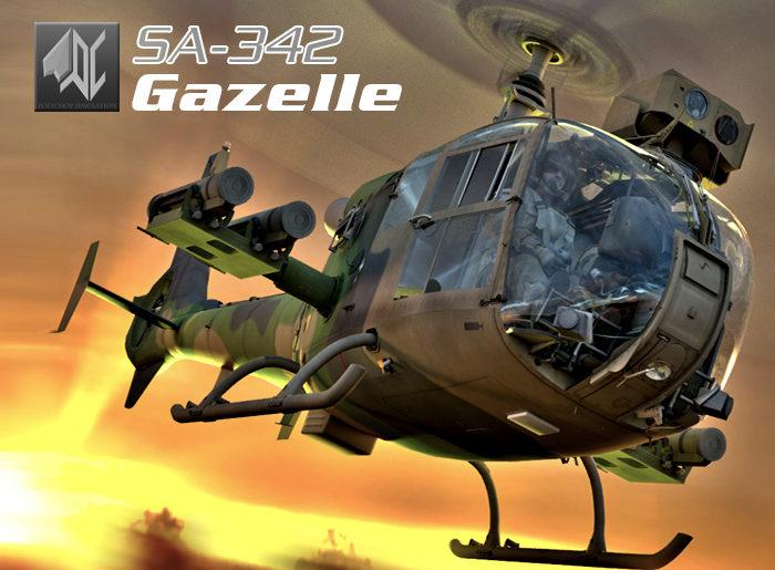 SA342 Gazelle is out !